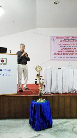 Dr  Anjan Bhattacharya - a renowned Developmental Paediatrician in