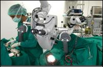 Brain tumor asian doctor