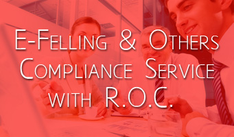 E – Felling & Others Compliance Service with R.O.C.