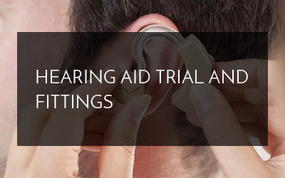 Hearing Aid Trial and Fittings