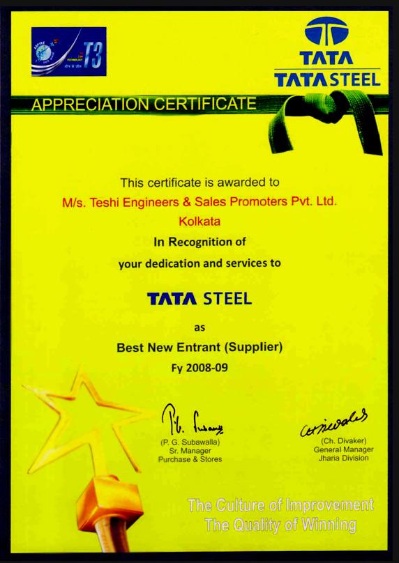 Teshi Engineers Amp Sales Promoters P Ltd
